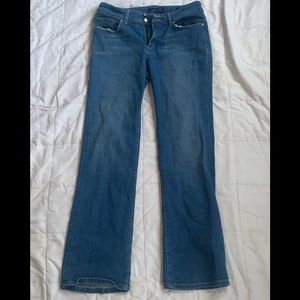 SEVEN7 Bootcut Medium Wash Double Button Jeans